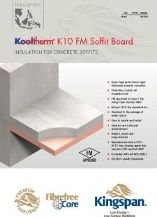 Kooltherm™ K10 FM Soffit Board
