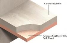 Insulation for Concrete Soffits Kooltherm™ K10 FM